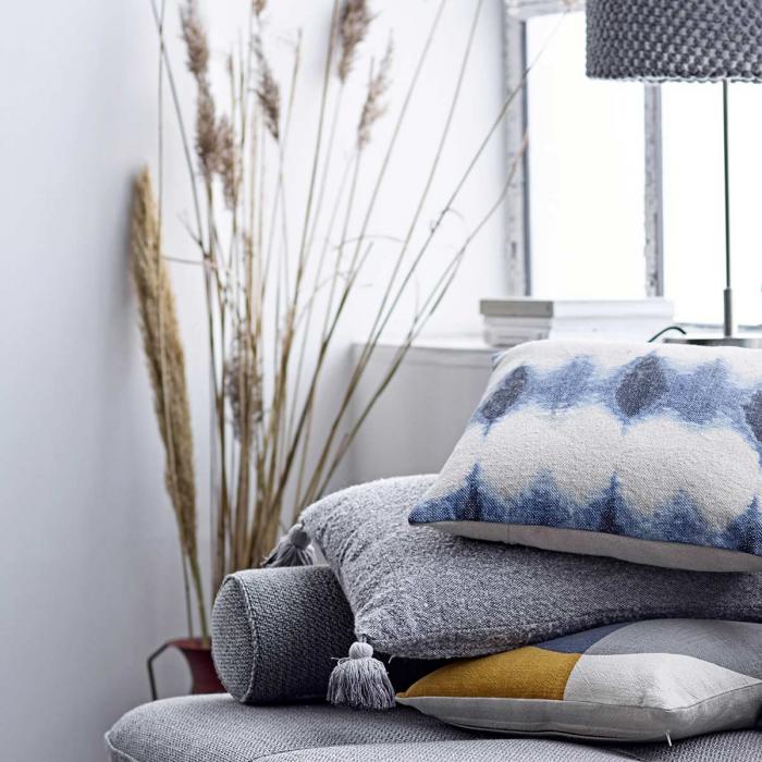 Nordic - Cuscino grigio acrilico