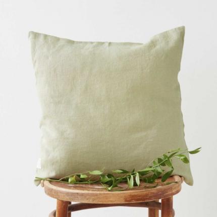 Silvae - cuscino in lino verde salvia