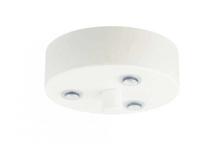 Lampadario UME 3/S - White Glossy
