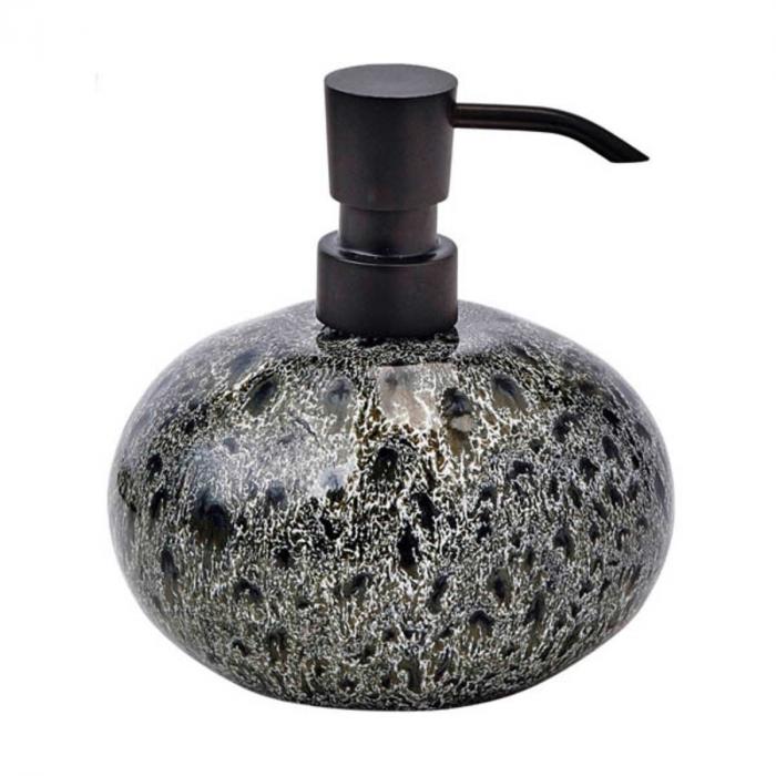 Ugo - Dispenser sapone nero