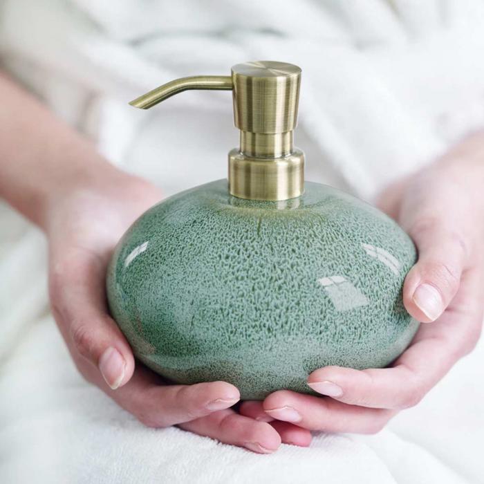 Ugo - Dispenser sapone verde acqua