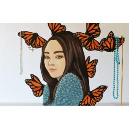 Espositore per gioielli Butterfly