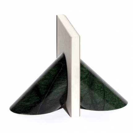 Solid - fermalibri in marmo verde