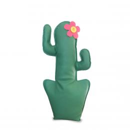 Fermaporta Cactus verde/rosa