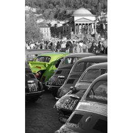 Fiat 500 verde