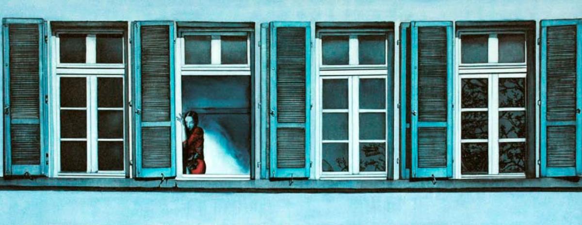Quadro su tela samp finestra aperta livingdeco 39 - Quadro finestra ...