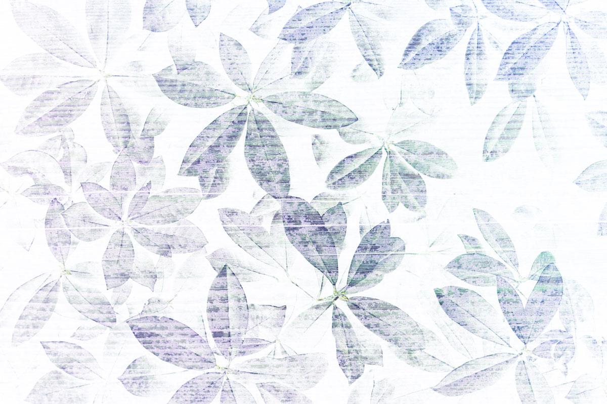 Carta da parati moderna foglie blu livingdeco 39 for Carta parati blu