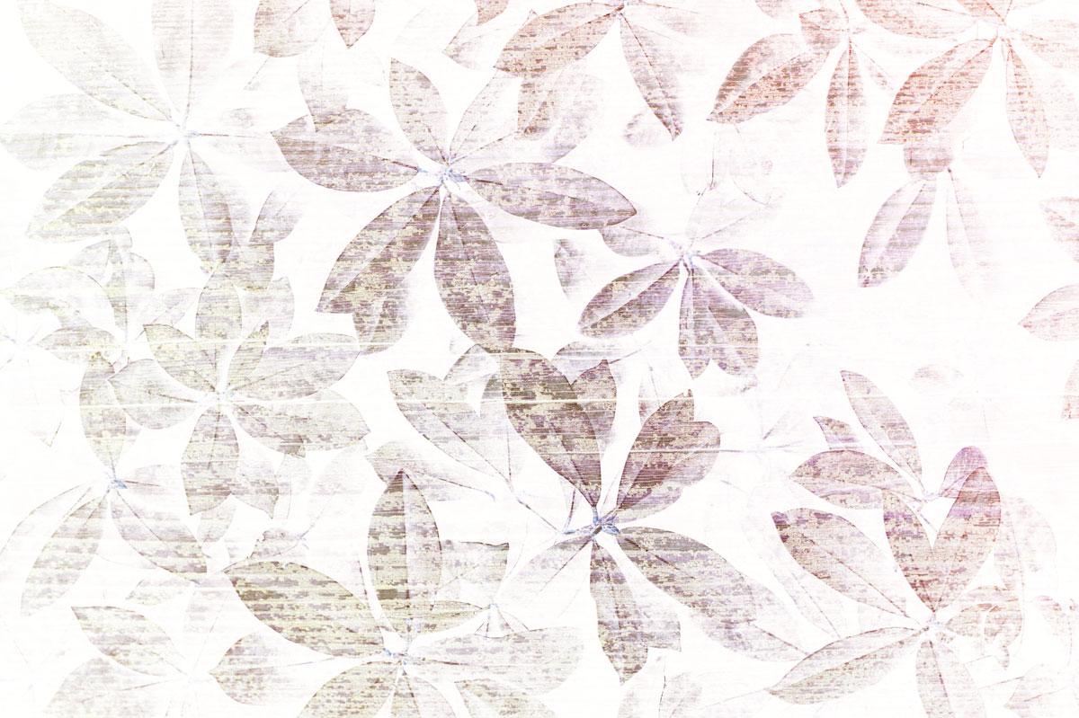 Carta da parati moderna foglie rosa livingdeco 39 for Carta da parati contemporanea