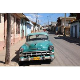 Auto d'epoca cubana