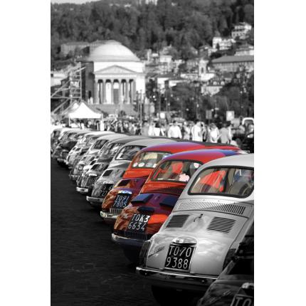 Fiat 500 rosse