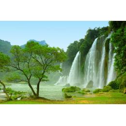 Natura con cascata