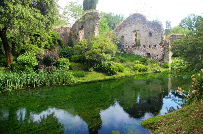Rovine del Giardino di Ninfa
