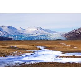 Dove il ghiaccio incontra la terra