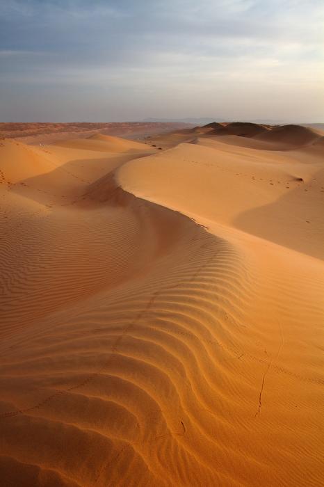 Dune all'alba