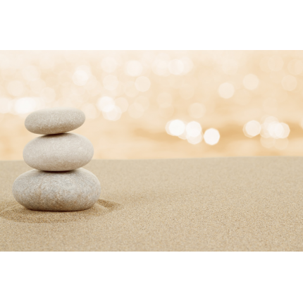 Fotomurali Zen -  Spiaggia Zen