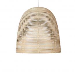 Vivi large - lampada a sospensione in rattan