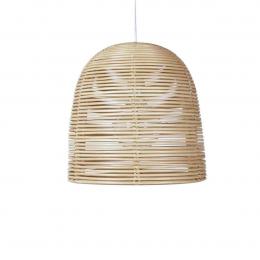 Vivi small - lampada a sospensione in rattan