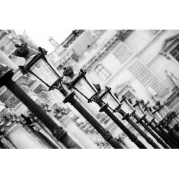 Lampioni a Parigi