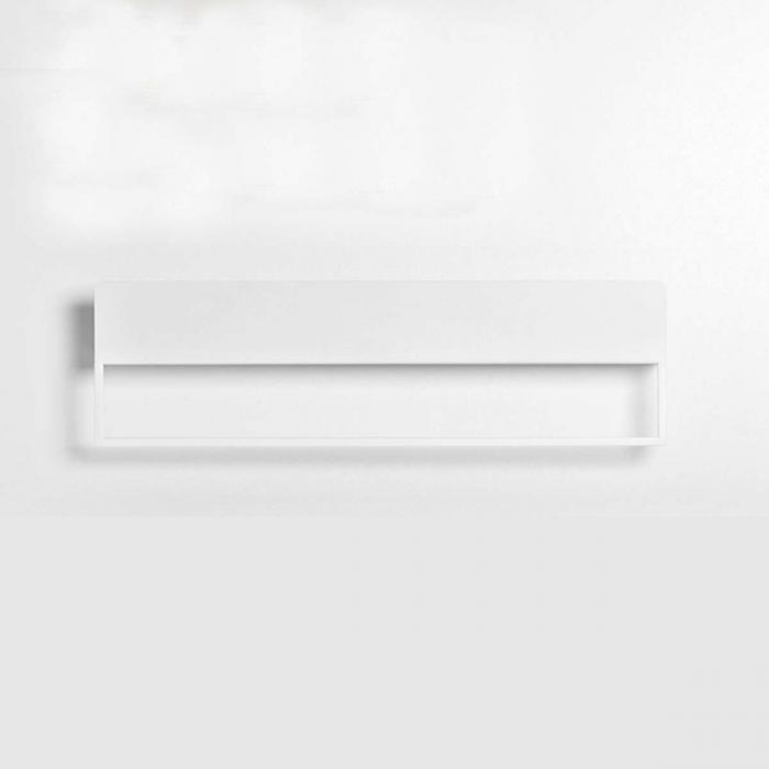 Landa - Mensola porta asciugamani bianca