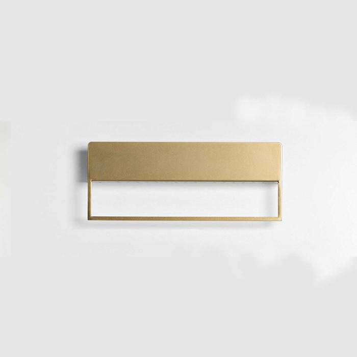 Landa - Mensola porta asciugamani oro