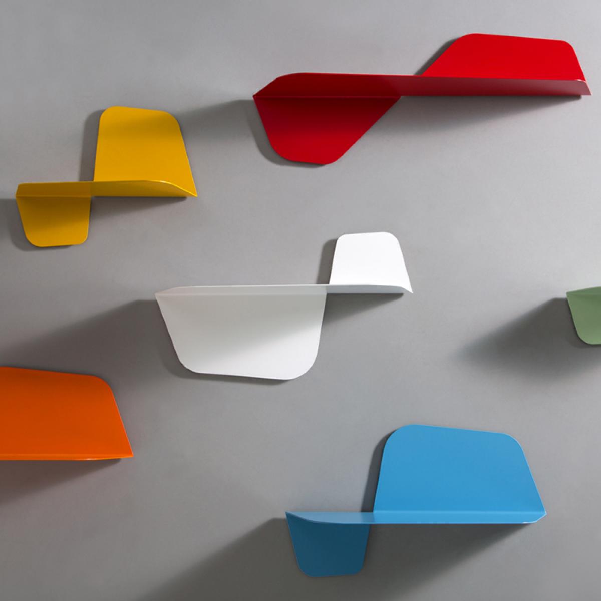 Mensole Da Muro Design.Mensole Da Muro Mensole Design Flap 60 Livingdeco