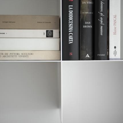 Mensola per libreria componibile INNESTO