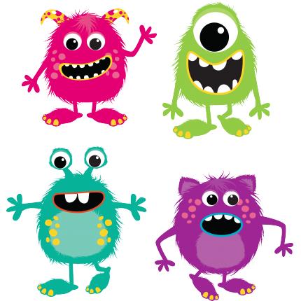 Stickers Bambini - Mostri