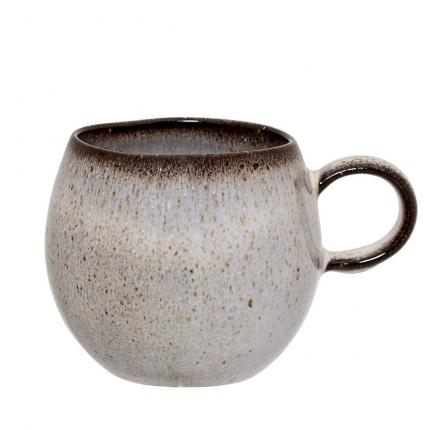 Sandrine - Set 6 Tazze grigio sabbia