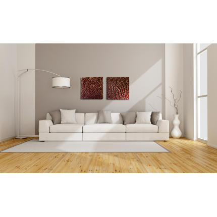 Pannelli decorativi 3d rosso rubino viola ametista livingdeco 39 - Decor art quadri bari ...