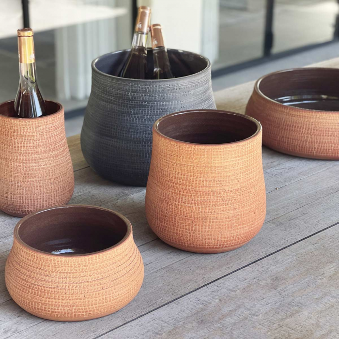 Paz small - vaso in terracotta