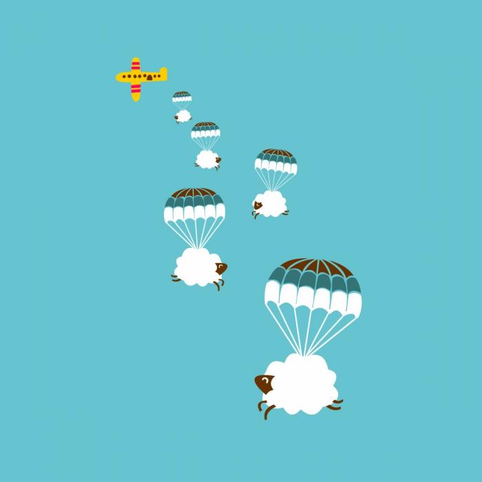 Pecorelle volanti