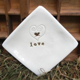 Piattino decorativo idea regalo sposi