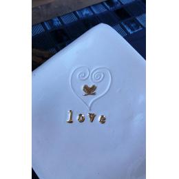 Piattino posacenere Love