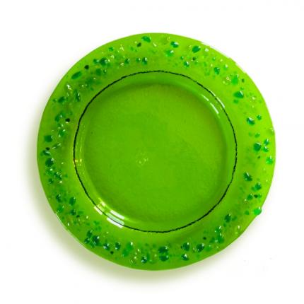 Lapilli - Piattino verde