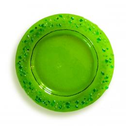 Piattino verde - serie lapilli