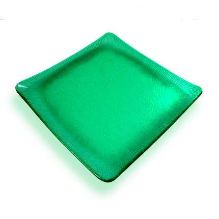 Piatto centrotavola verde