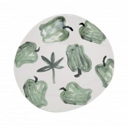 Ciotola fantasia peperoni verdi