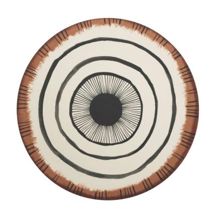 Vibration - Piatto di portata in bamboo