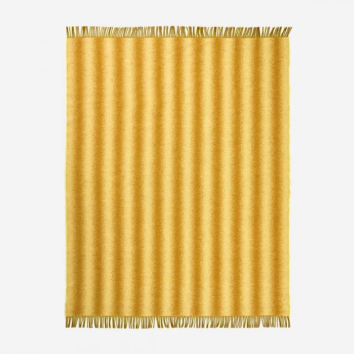 Tide - plaid giallo e senape