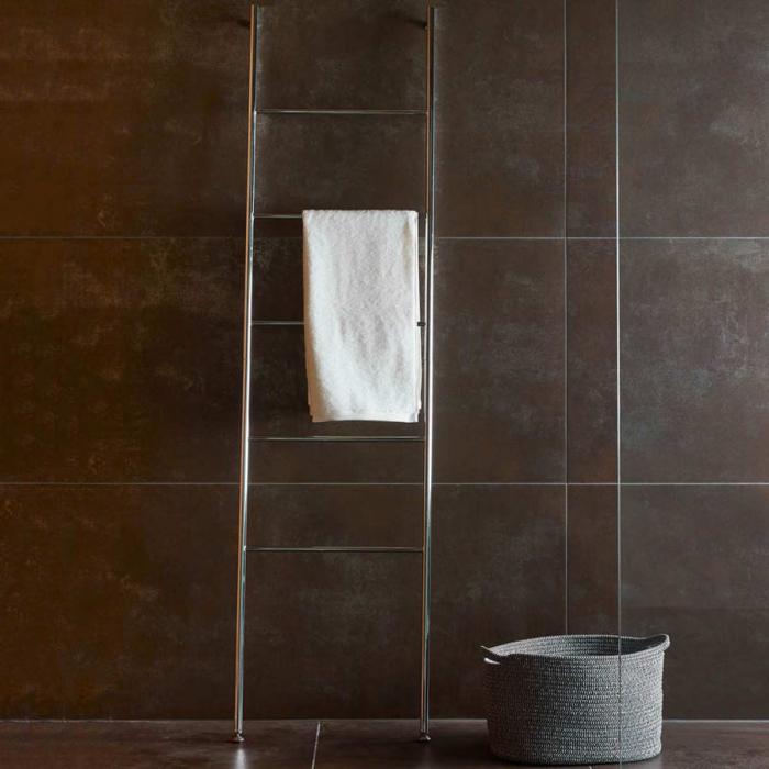 Icon - Scala porta asciugamani cromata