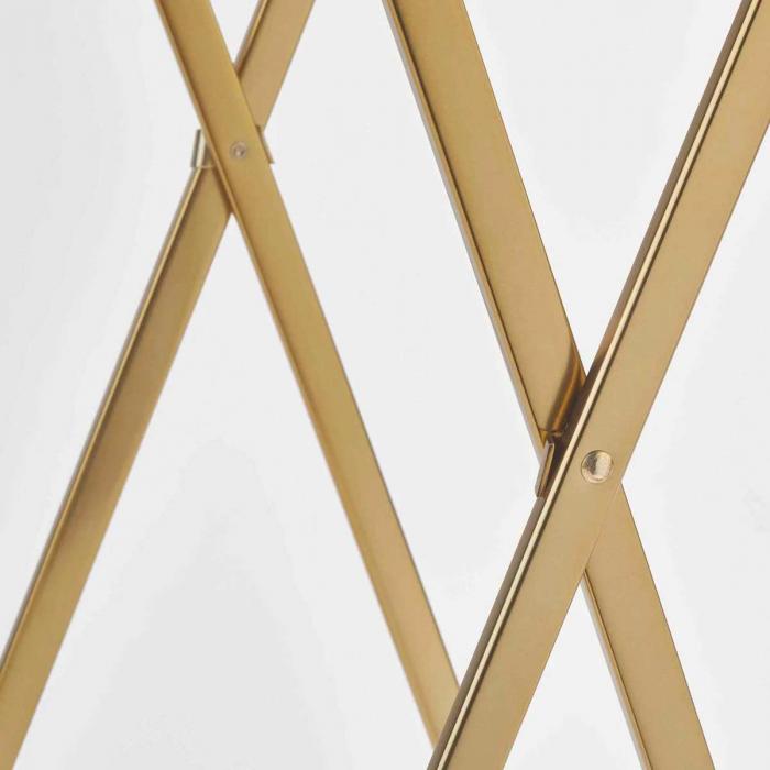 Icon - Porta asciugamani design dorato