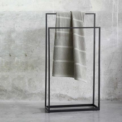 Yuri - Porta asciugamani da terra nero