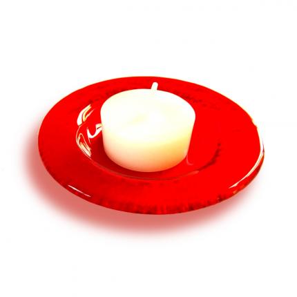 Portacandele - Portacandela rosso