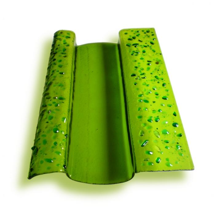 Porta grissini verde - serie Lapilli