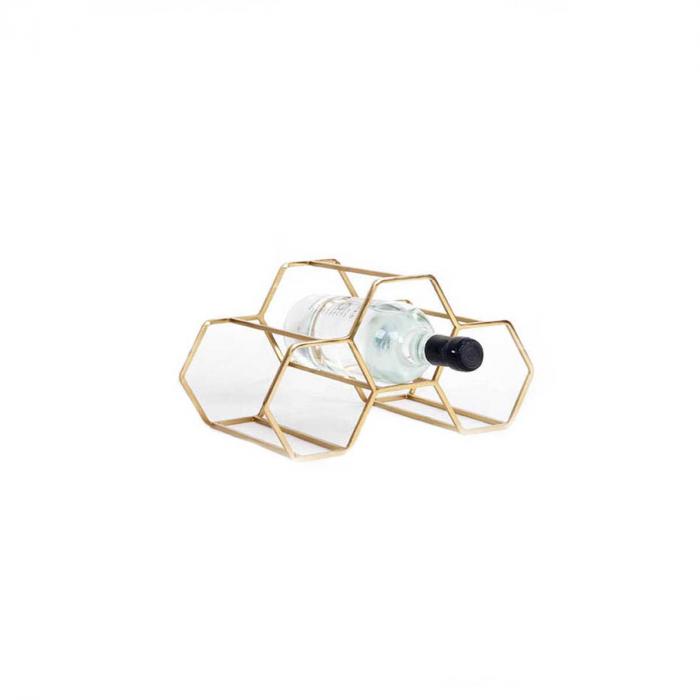 Pico 3 - portabottiglie ottone