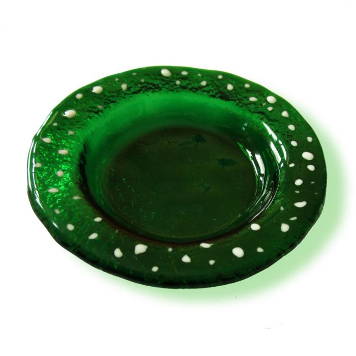 Portacandela verde - serie lapilli
