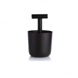 Carry Away - portamatite nero in metallo