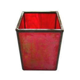 Portamatite rosso iridescente