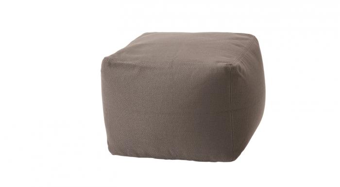 Archimede pouf quadrato piccolo