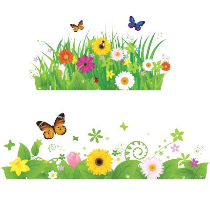 Stickers Bambini - Prato fiorito